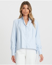 Willa - Picadilly Belted Shirt