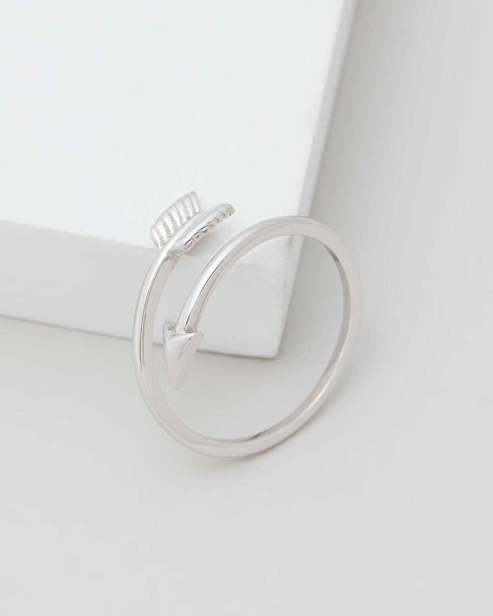 Michael Hill Arrow Ring Jewellery Sterling Silver