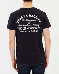 Deus Ex Machina - Venice LA Address Tee