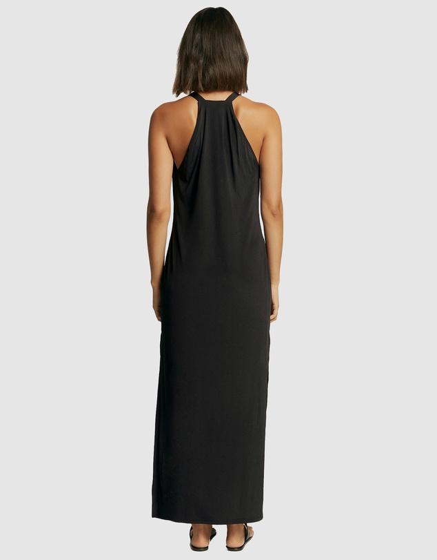 Women Azure Jersey Dress