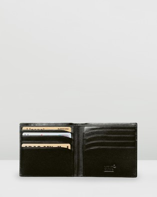 Montblanc Meisterst??ck Wallet 8cc - Wallets (Black)