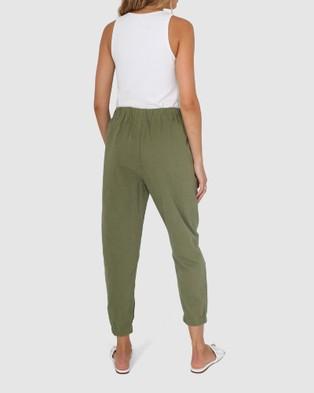 Madison The Label Kara Joggers - Pants (Khaki)