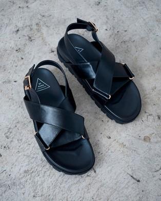 St Sana Kamala Wedges - Wedges (Black)
