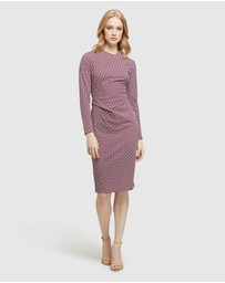 Oxford - Hartley Geo Printed Knit Dress