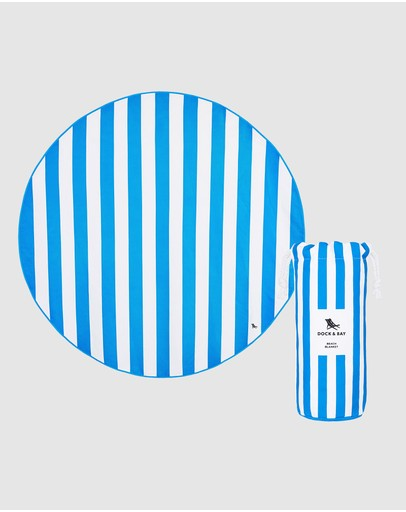 Dock & Bay - Round Beach Blanket & Towel - 170cm