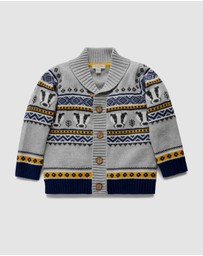 Purebaby - Badger Cardigan - Kids