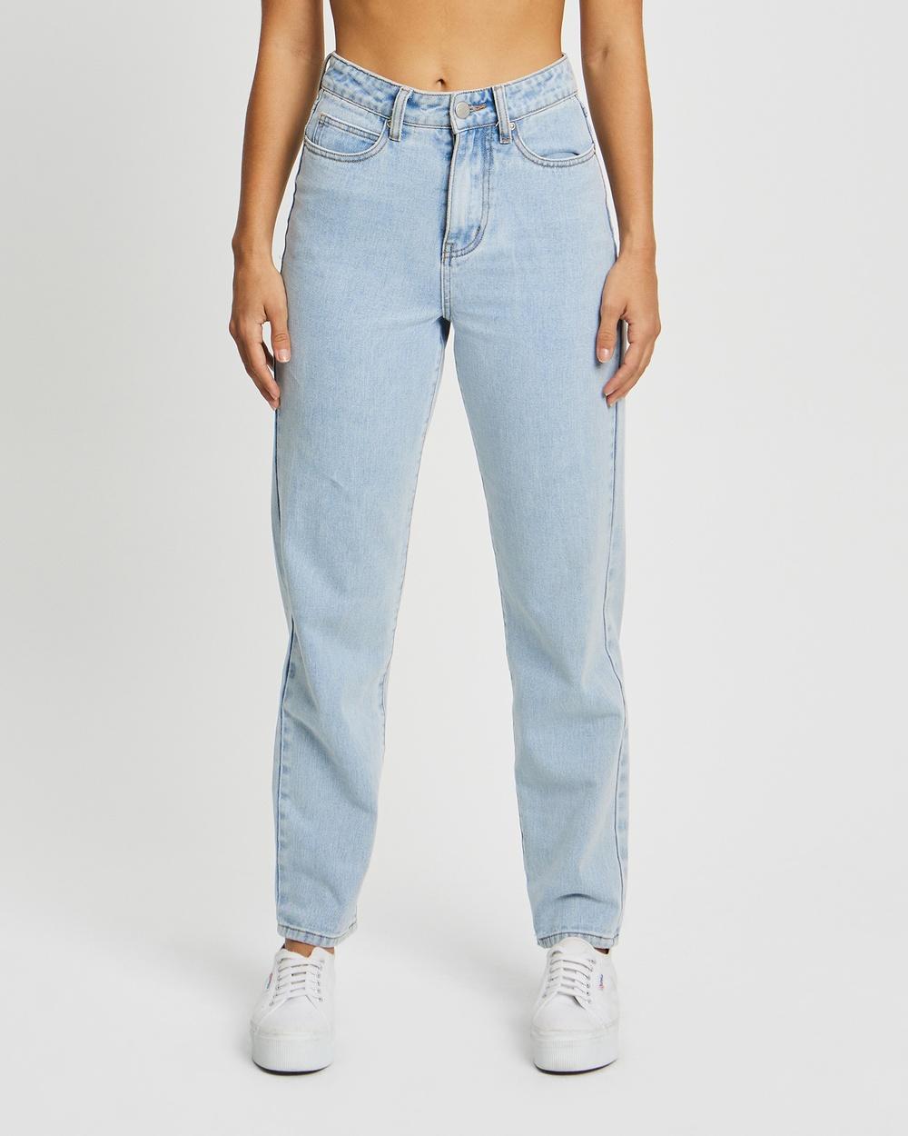 Calli Tahlia Jeans Light Blue Wash Australia