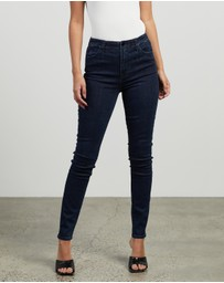J Brand - Darted High-Rise Skinny Jeans