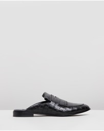 Senso - Seb Croc Leather Loafers