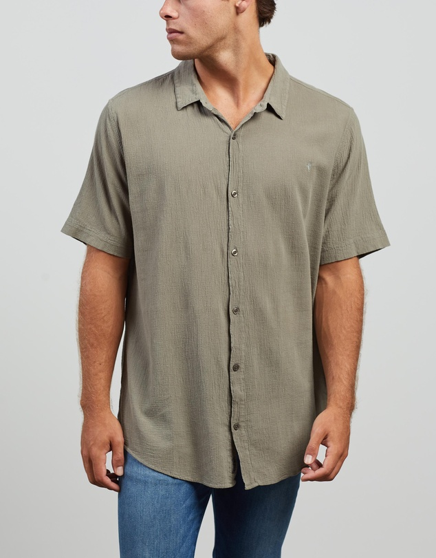 Kiss Chacey - Downtown Relaxed Short Sleeve Shirt
