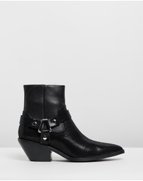Caverley - Don Leather Ankle Boots