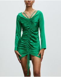 Nicola Finetti - Holly Ruched Mini Dress