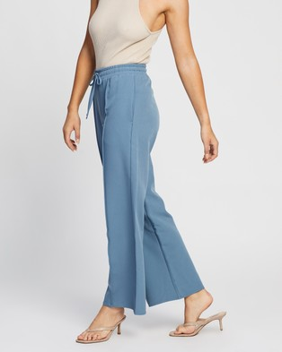 4th & Reckless Beckett Trousers - Pants (Dusty Blue)
