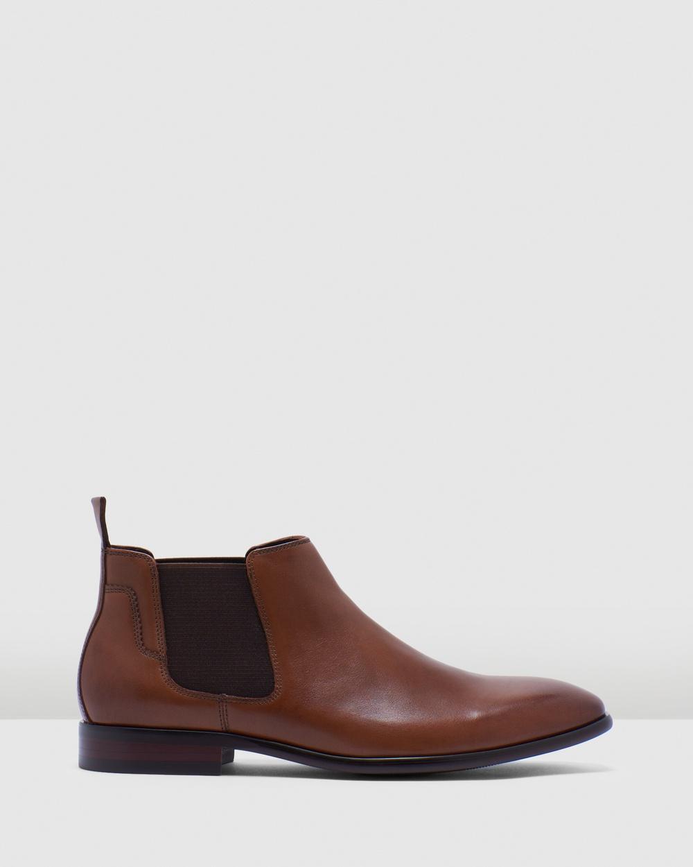 Julius Marlow Vexed Boots Cognac