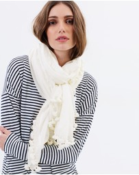 Cloth & Co. - Hand Loomed Silk & Cotton Scarf