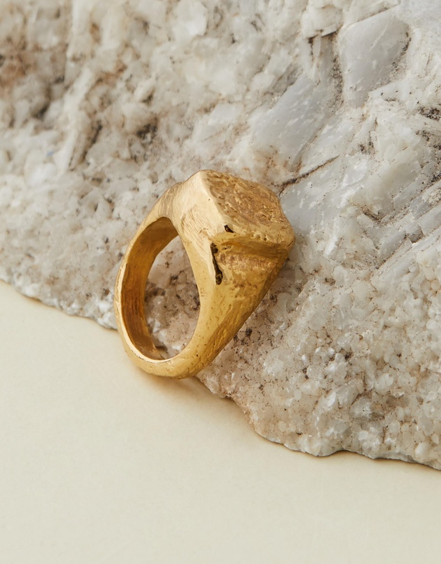Released From Love - Classic Signet Ring 001