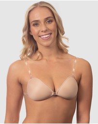B Free Intimate Apparel - Sleek Stick On Bra with Straps
