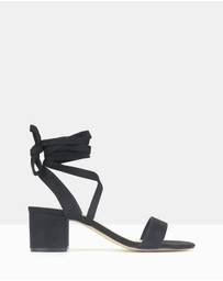 Betts - Chyna Lace-Up Block Heel Sandals