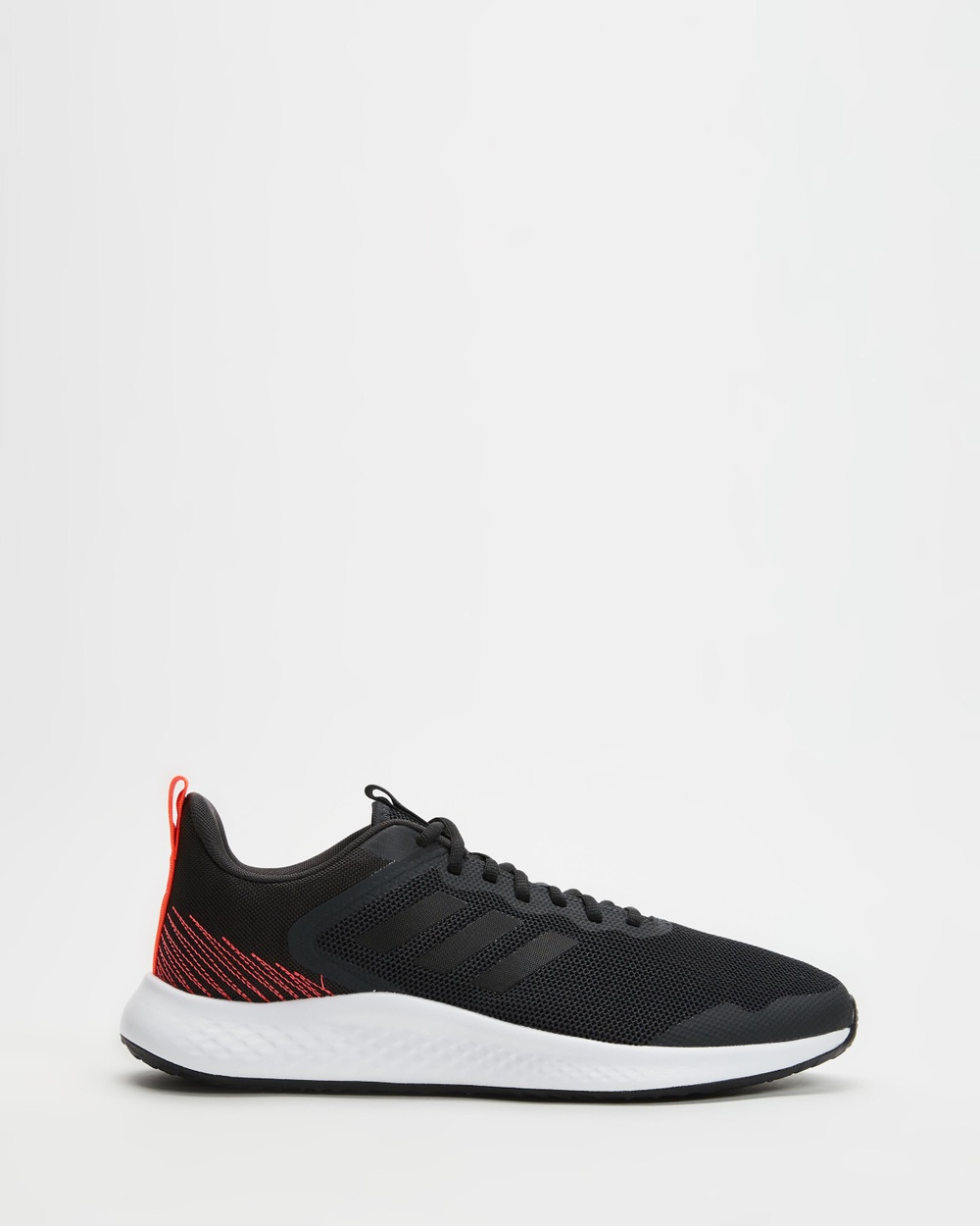 adidas Performance Fluidstreet Men's Shoes Carbon, Core Black & Solar Red