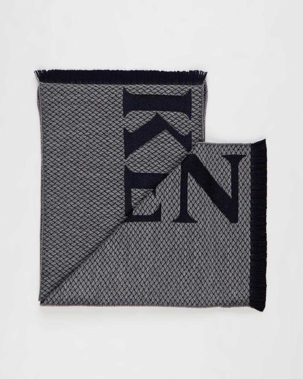 Kent and Curwen Scarf Scarves & Gloves Grey