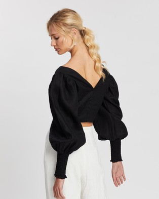 Saroka Rumer Top - Cropped tops (Black)