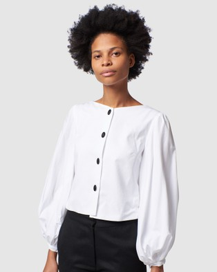 Arnsdorf Blanca Blouse - Tops (White)