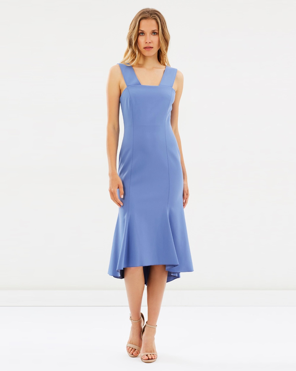 Ginger & Smart Carmen Dress Dresses Bluebell Carmen Dress