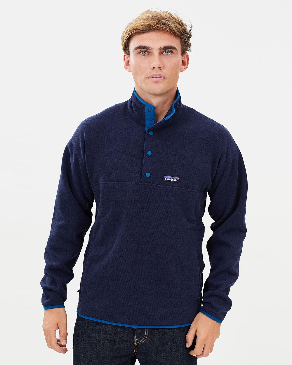 e351a3959adee5 Men's Lightweight Better Sweater Marsupial Fleece Pullover by Patagonia  Online | THE ICONIC | Australia