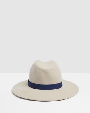 Kate & Confusion Colorado Fedora - Hats (Taupe)