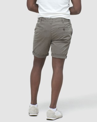 Superdry International Chino Short - Chino Shorts (Dusty Olive)