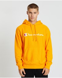 Champion - Reverse Weave Terry Hood With Script