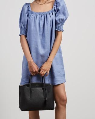 Kate Spade - Margaux Large Satchel - Handbags (Black) Margaux Large Satchel