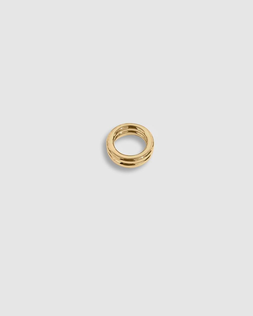 ALIX YANG Gabby Ring Jewellery Gold