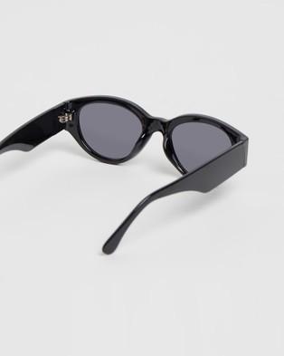 Reality Eyewear Strict Machine - Sunglasses (Jett Black)