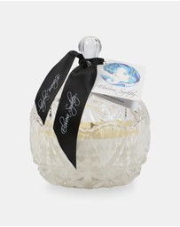 Elouera Sydney - Fresh Linen Crystal Cut Candle
