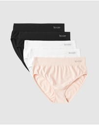 Boody Organic Bamboo Eco Wear - 5 Pack Full Briefs