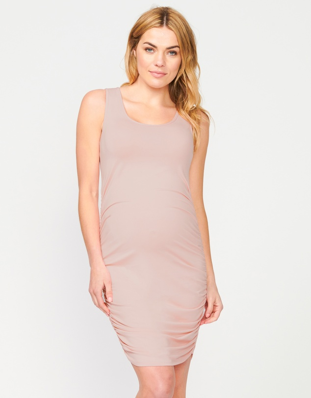 Pea in a Pod Maternity - Bailey Gather Singlet Dress