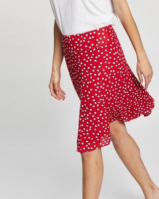 Review Set Sail Spot Skirt - Skirts (Red Multi)