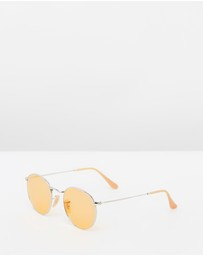 Ray-Ban - Round Metal Color Lens