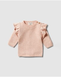 Wilson & Frenchy - Knitted Ruffle Jumper - Babies