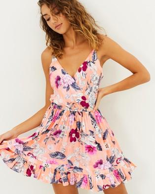 Seafolly – Modern Love Dress – Swimwear Peach Melba