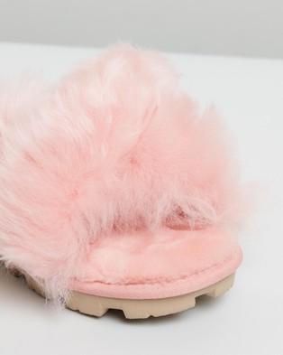 UGG Womens Fuzzalicious Slippers - Slippers & Accessories (LA Sunset)