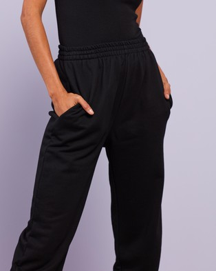 Dazie Keep It Up Sweat Pants - Sweatpants (Black)