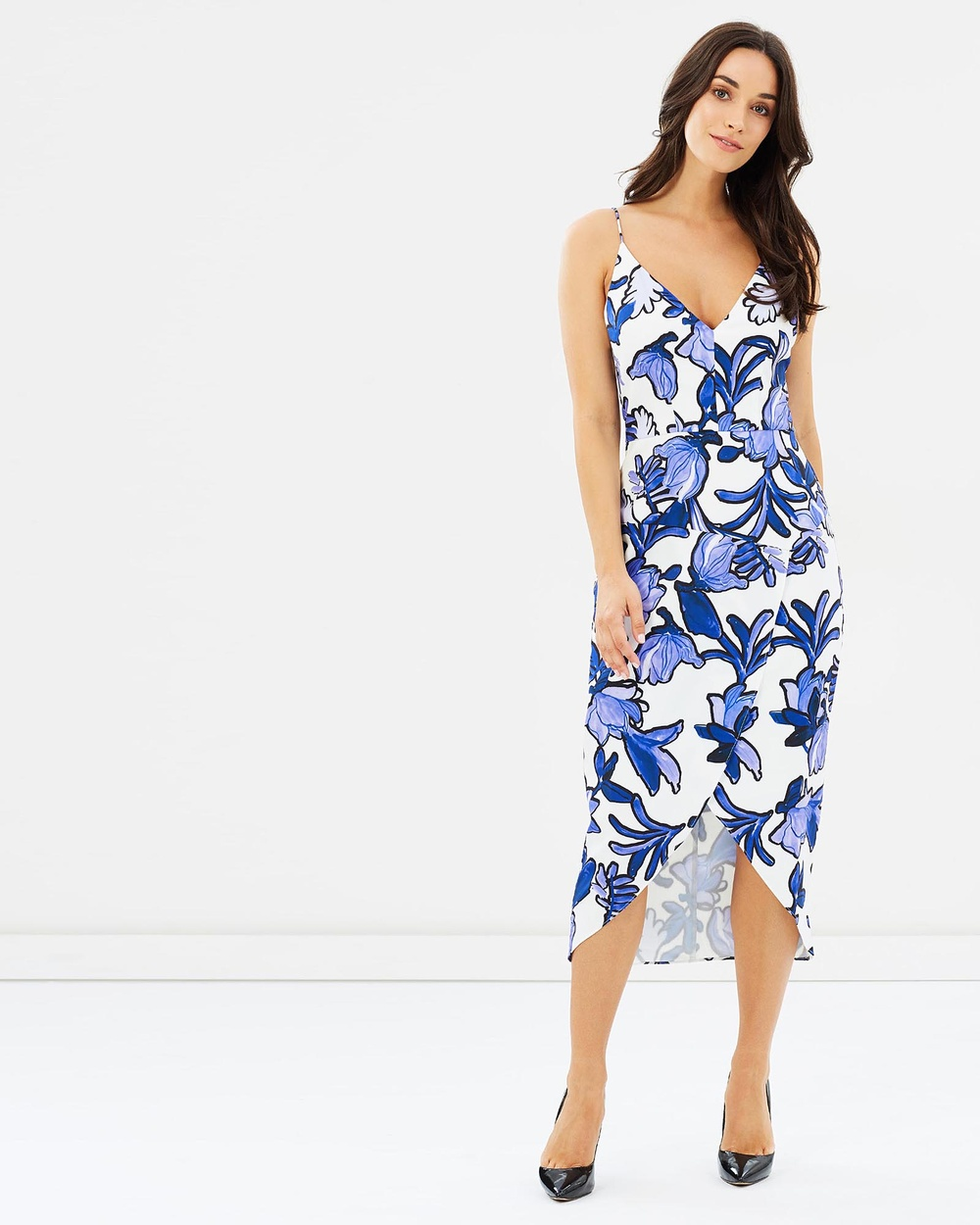 Cooper St Urban Sea Drape Dress Printed Dresses Print Urban Sea Drape Dress