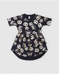 Huxbaby - UFO Pretzel Swirl Dress - Kids