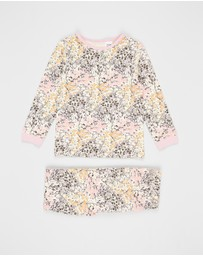 Cotton On Kids - Kip & Co Florence Long Sleeve PJ Set - Kids-Teens