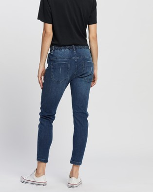 DRICOPER DENIM Active Classic Jeans - Crop (Classic Mid)