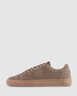 Aquila Deco Sneakers - Lifestyle Sneakers (Suede Taupe)