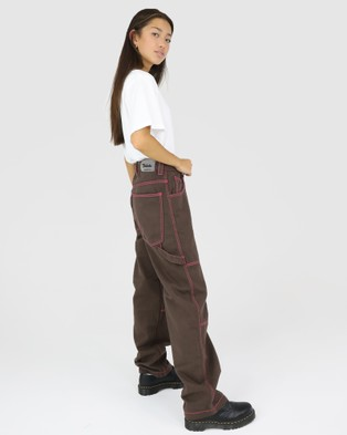 Dakota501 Carpenter Pant - Relaxed Jeans (Chocolate)