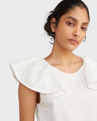 Morrison Kirsty Top - Tops (White)